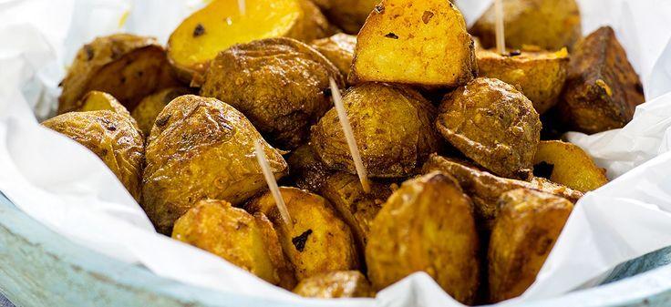 stekte poteter til tapas