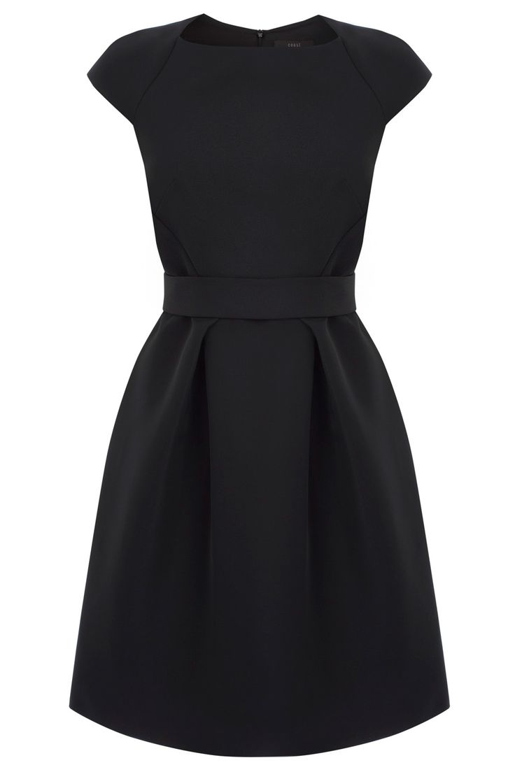 A classy capped leeved style with all day elegance. The Carianna dress is crafted from our exclusively made Duchess Satin making it perfect for a modern structured fit. With a square neckline and seamed waist this dress comes complete with a embroidered waist belt that accentuates the tulip style skirt. This dress is fully lined and closes with a back concealed zip.