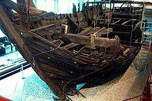 Original Kogge aus dem Deutschen Schiffahrtsmuseum Bremerhaven, Germany