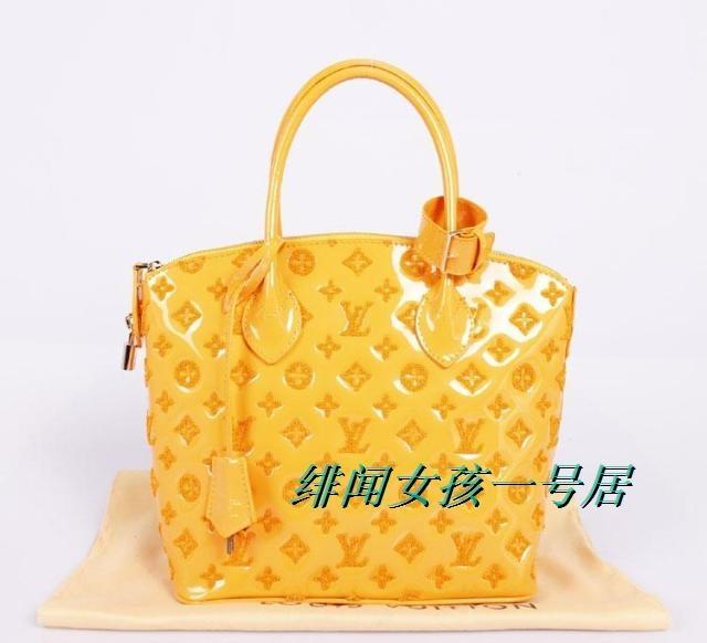 实拍2012新款限量LOCKIT女士手提包M40600M40602漆皮提花包真皮包-淘宝网
