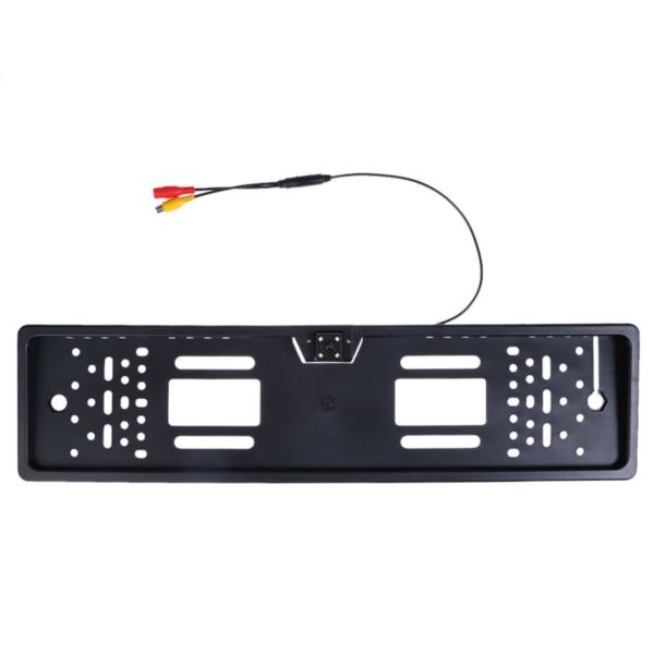 170 Degree 4 LED Europe License Plate Frame Car Reverse Parking Rear View Camera Night Vision