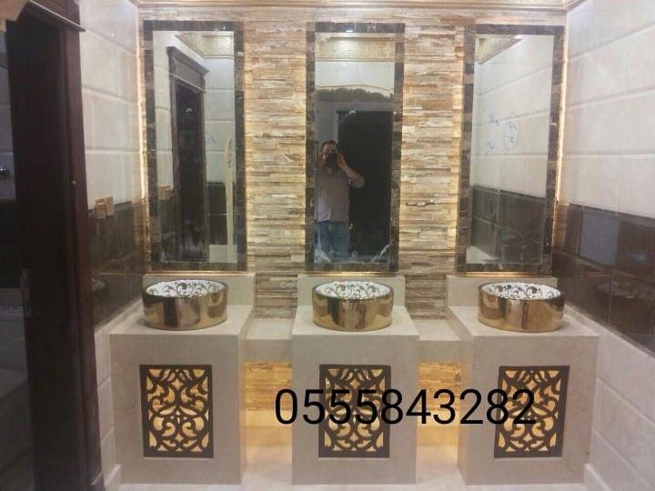 صور مغاسل رخام حمامات Bathroom Mirror Lighted Bathroom Mirror Mirror