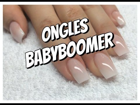 Tuto dégradés en vernis semi permanent + Babyboomer - YouTube