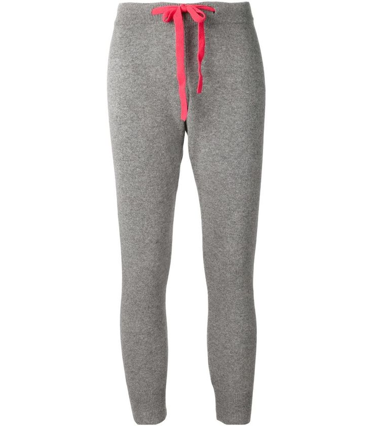 ShopBazaar Chinti and Parker Cashmere Jogger Pants MAIN