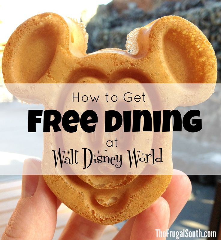 Everything you NEED to know to get Free Dining at Disney World! Tips and tricks for booking this popular package and how it works.