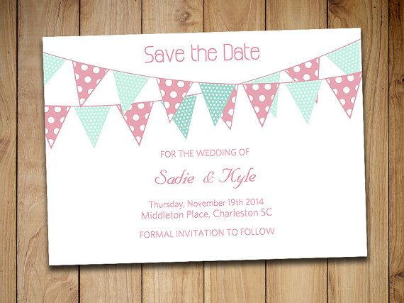 The 25+ best Save the date templates ideas on Pinterest Save the - formal invitations template