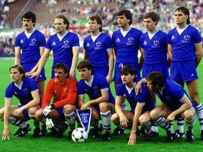 Everton FC - 84/85 - what a team.