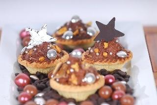 chocolate tarts for cheats