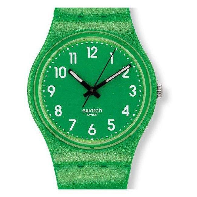 montre Femme Swatch Flaky Green