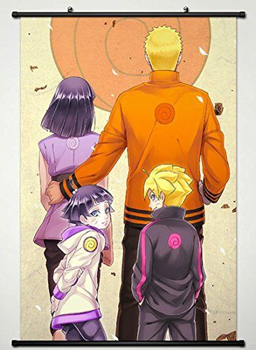 Wall Scroll Poster Fabric Painting For Anime Naruto Key Roles 648 L