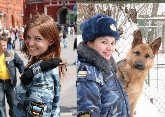 Sexy Russian Female Police Officer