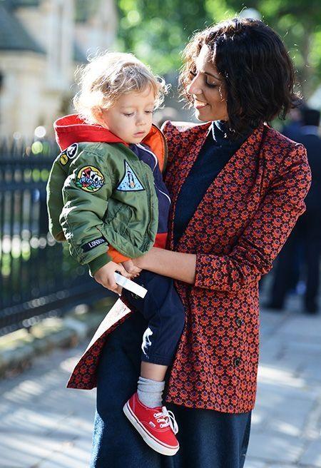 Mummy & kids na fashion week | eu, mãe