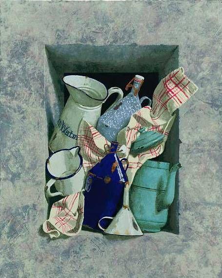 il nuovo realismo olandese: Kenne Gregoire - Pratica lArte - disegno e pittura a olio, acrilico, acquerello