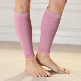 Get relief from shin splints or leg cramps with calf/shin compression sleeves. Solutions.com #Health #Fitness #Wellness
