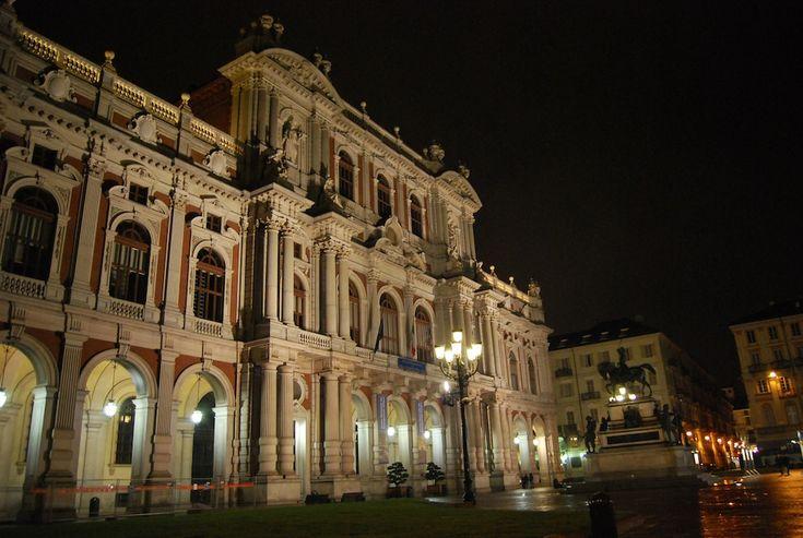 Torino, Piazza Carlo Alberto.