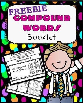 Compound Words Booklet Printables FREEBIE! Great for Centers, Seatwork, or Early FinishersCheck out my Compound Word Puzzles by clicking the link below:Compound Word PuzzlesIf you are looking for extra practice with compound words, these are just what you need.