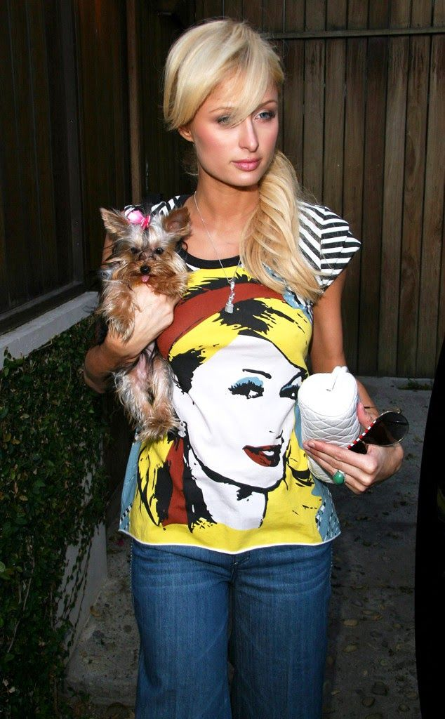 Model Of The Year PARIS HILTON The blond beauty dons an