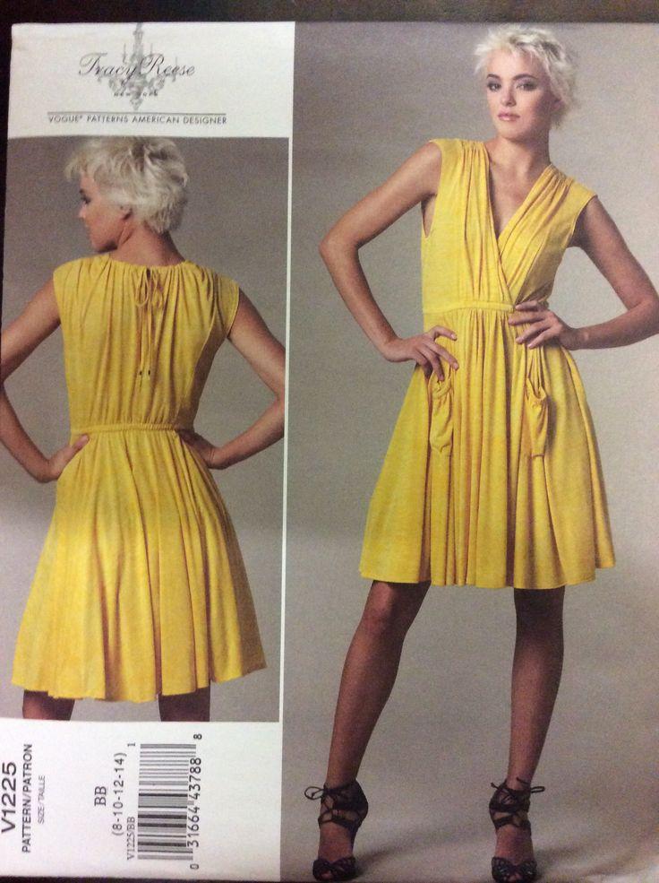 Vogue 1225, Misses Dress, 8-14 (31.5-36), 2011