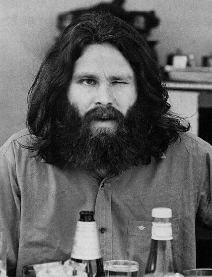 Jim Morrison. and we spot Heinz Ketchup!