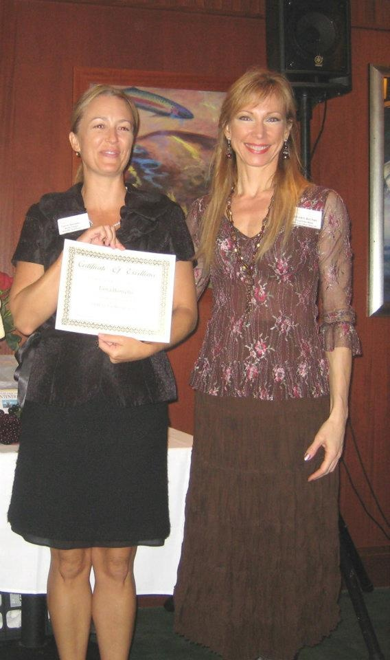 Tama Borriello, CERTIFIED FINANCIAL ADVISOR at Wells Fargo Investments, is our 2011 Winner of the Most Contributing New Member Award here at Eastside Women In Business!