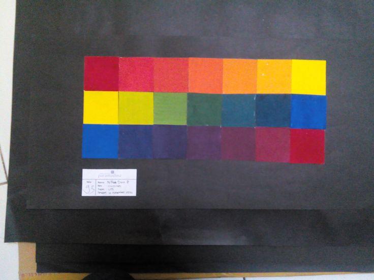 NIRMANA 2D | poster color, main color transformation