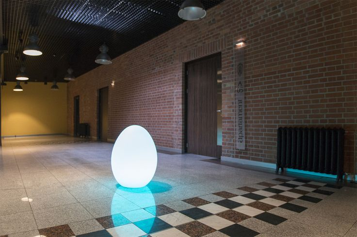 Wielkanoc w stylu nuno'ni | modern design egg-shaped lamps