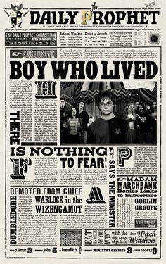 Αποτέλεσμα εικόνας για harry potter daily posters