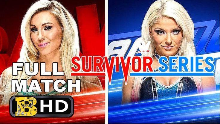 WWE SURVIVOR SERIES 2017 ALEXA BLISS VS CHARLOTTE FlAIR   WWE FULL MATCH... #survivorseries #wwe #alexabliss #charlotteflair #womenswresling #wwedivas #totaldivas