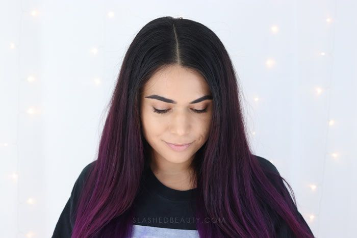 Best Hair Color Spray For Dark Hair Manic Panic Amplified Hair Color Spray Slashed Beauty Hair Color Spray Dipped Hair Cool Hairstyles