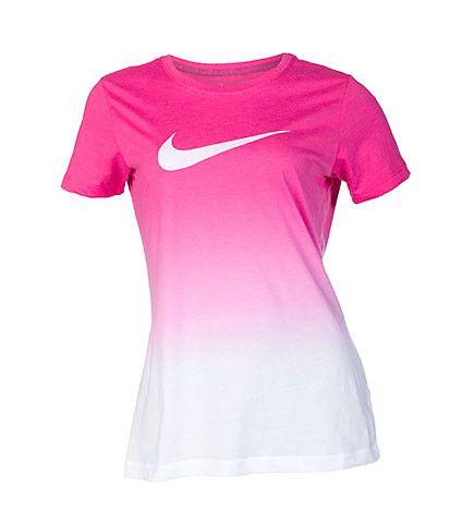 pink nike shirt