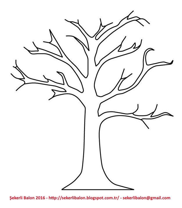 Ağaç yaprak ağaçlar yapraklar okulöncesi ilkokul kağıt