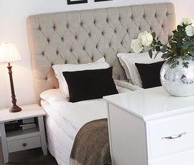 bedroom new england style