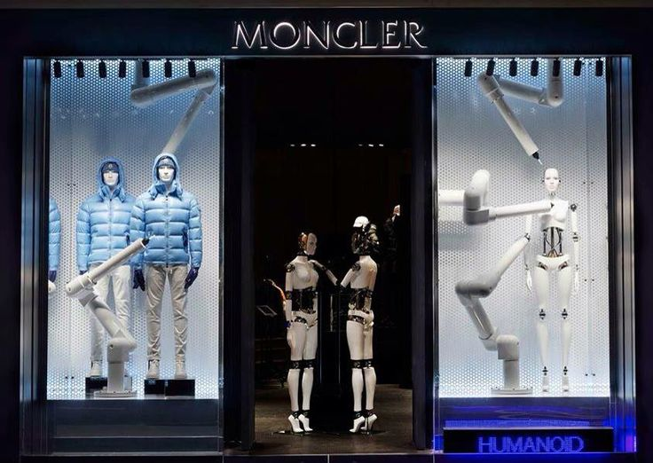 "MONCLER,""Robots with a View"", pinned by Ton van der Veer"