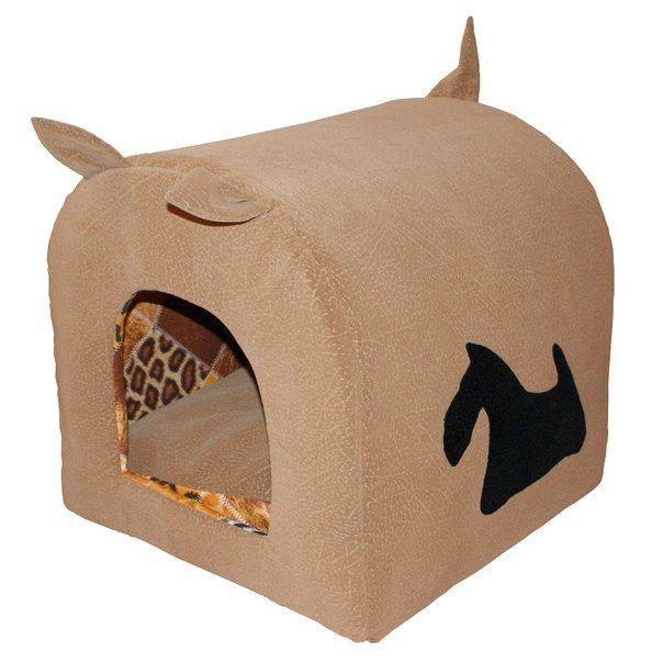 """Уютный флоковый домик - лежанка с апликацией """"Хвостик"""". Рарзмеры: 43*41*46 см. Съемный матрас толщиной 5 см. Цена: 1 500 руб. #Вигвам, #Гамак, #Зоотовары, #Лежанки, #матрас, #кошки, #собаки, #питер #zoo #cat #dog #piter #rus #mimimi #house #spb"""