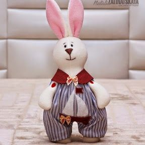 Шитые игрушки. Заяц и Пес - они такие милые!  #игрушки #выкройка #сделай_сам #своимируками #handmade