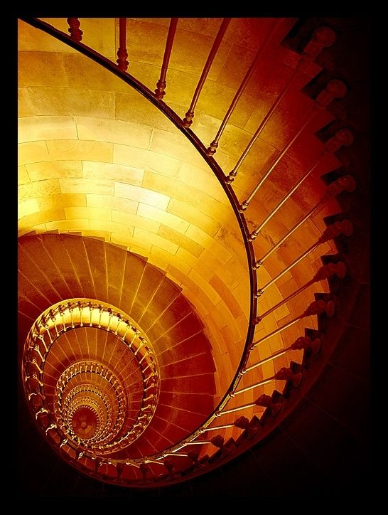 Spiral Staircase by Rayna.Aja