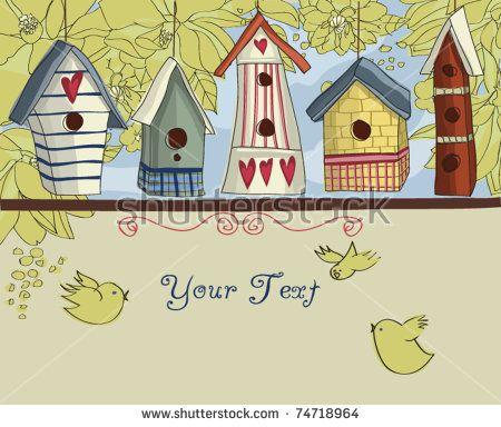 Bird house vector art free vector download (210,379 Free vector ...