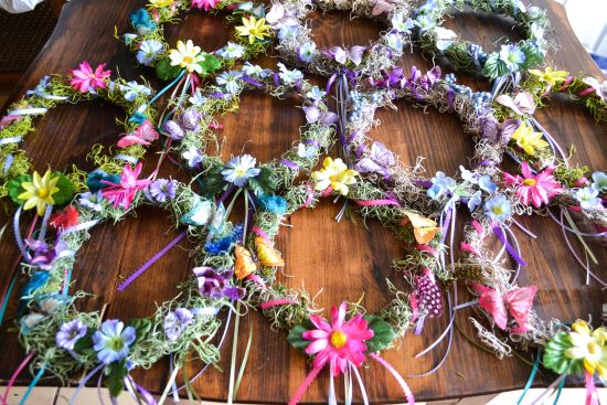 DIY Fairy Crowns, Halloween costume, Fairy Party, Fairy Crowns for girls.