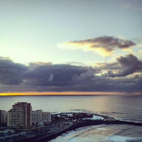 Alltagsfrüchtchen - #Sonnenuntergang in #Puerto_de_la_Cruz