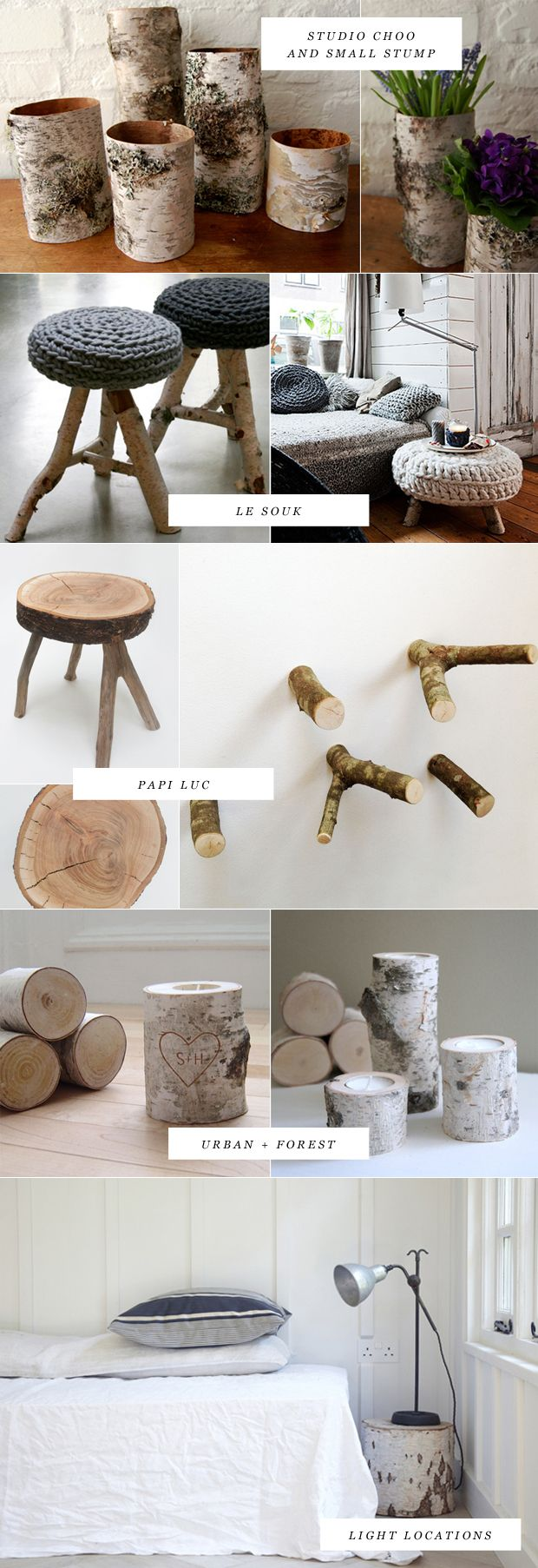 Bring in the Birch (furniture) via Dearest Nature