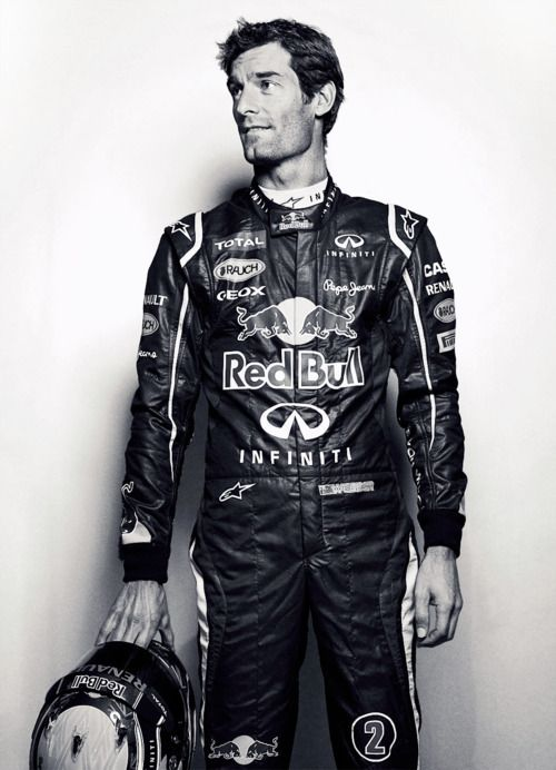 This is one sexy man that id love to meet! Mark Webber F1 driver