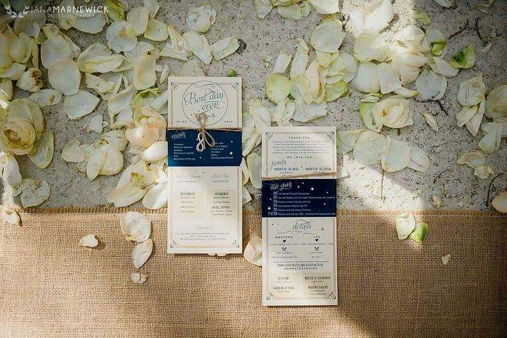 Add some wedding program to your ceremony  www.ido4u.co.za