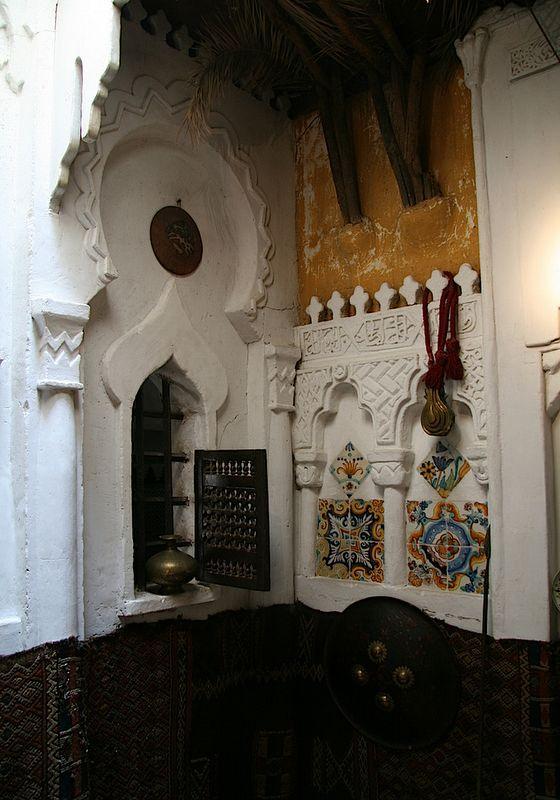 La mosquée de la maison de Pierre Loti. Art Nouveau et Jugendstil. Courants artistiques et littéraires de 1880 à 1920: Orientalisme