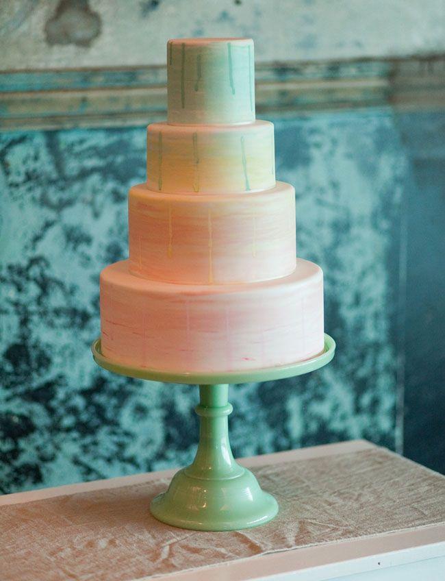 Wedding cake acquerello | Watercolor Wedding cake | Watercolor Wedding Inspiration http://theproposalwedding.blogspot.it/ #watercolor #wedding #inspiration #summer #acquerelli #matrimonio #estate
