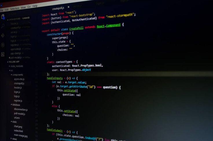 Working on the create poll component  #newyork #programming #programmer #program #code #coding #coder #javascript #js #app #development #developer #software #webdesign #webdeveloper #nodejs #react #computer #laptop #design #fullstack