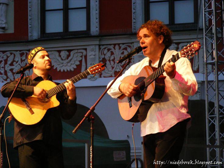 Marek Ravski & Kuba Niedoborek recital Jak malował Pan Chagall Zamość czerwiec 2013