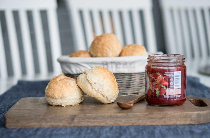 Oppskrift på nydelige scones til frokost!