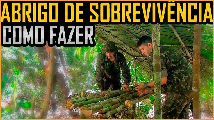 Abrigo de Sobrevivência na Selva - Como fazer (feat. 1o BIS de Manaus)