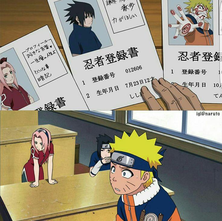 Team 7, Sakura, Sasuke, Naruto, funny, text, pictures, photos; Naruto