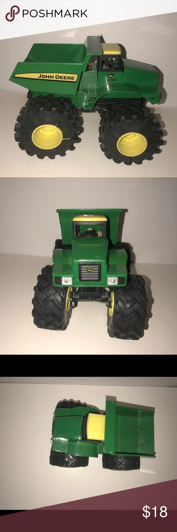John Deere dump truck tractor John Deere green and yellow dump truck. Great condition! John Deere Other